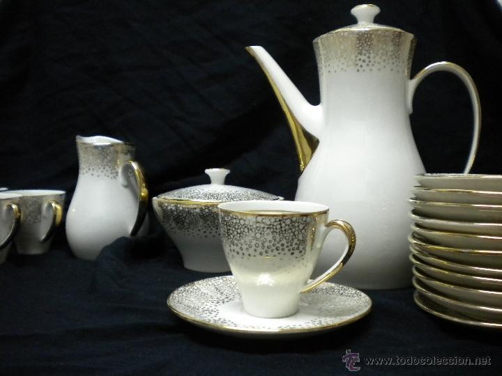 Vintage: juego de cafe porcelana años 50. - Foto 2 - 40415878