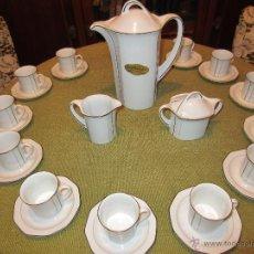 Vintage: JUEGO DE CAFE DOCE SERVICIOS BAVARIA . Lote 40701116