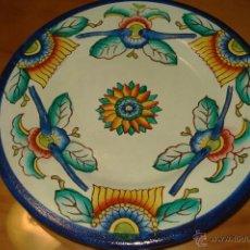 Vintage: PLATO PINTADO A MANO. Lote 40900229