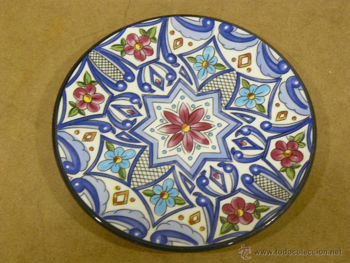 Plato decorativo para pared marca ceraplat comprar porcelana y cer mica vintage en - Platos decorativos pared ...