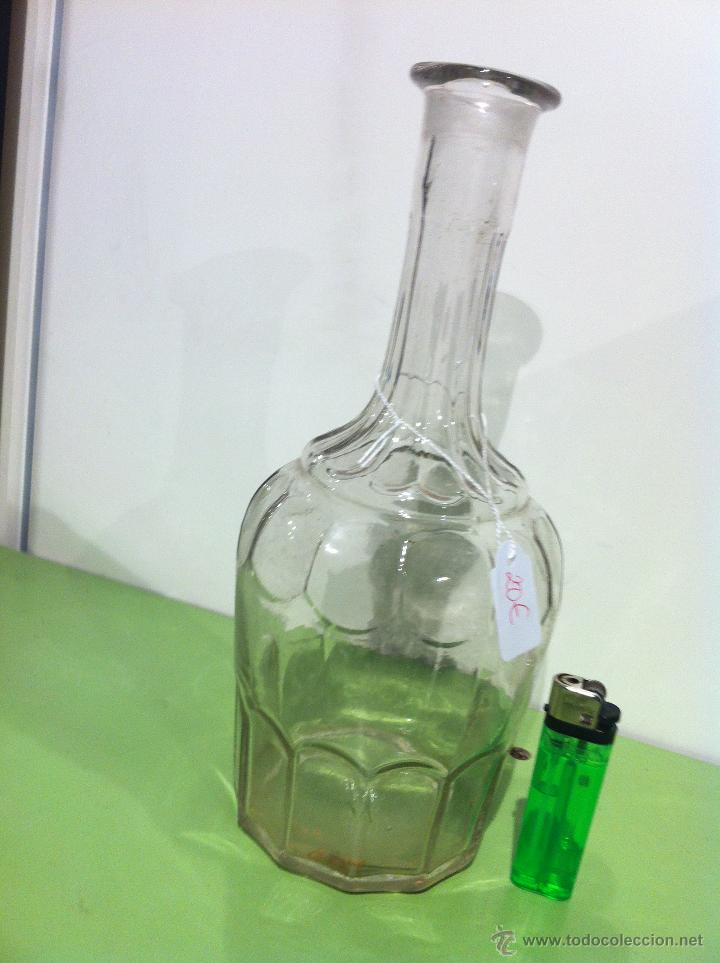Vintage: botella cristal - Foto 2 - 41136364
