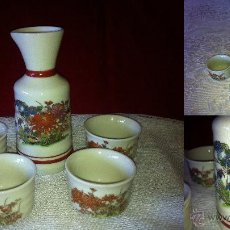 Vintage: LICORERA FLORES PORCELANA. Lote 41460994