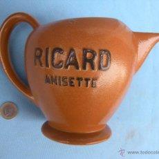 Vintage: PRECIOSA Y RARA JARRA DE RICARD ANISETTE. Lote 41494310
