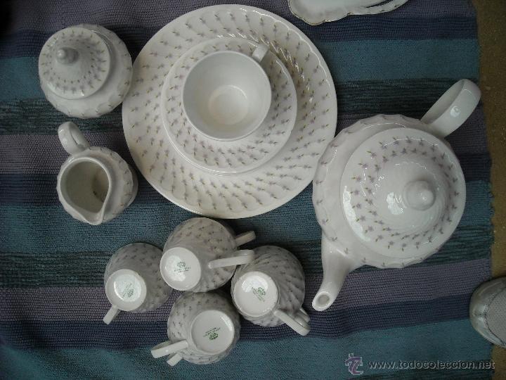 JUEGO DE CAFÉ (Vintage - Decoración - Porcelanas y Cerámicas)