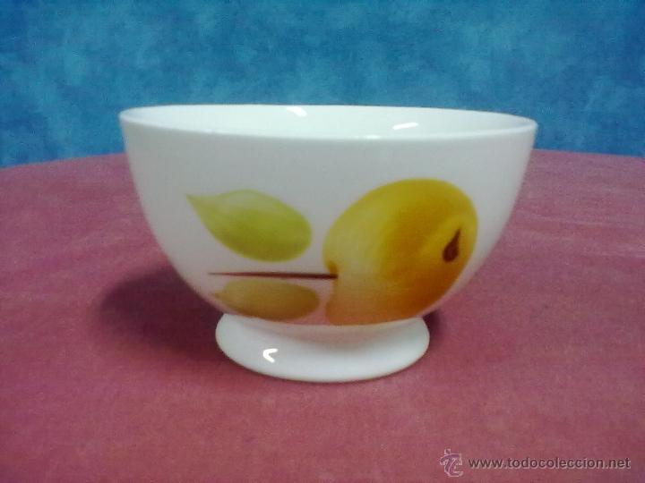 TAZON BOL CERAMICA GIL VARGAS SEGOVIA (Vintage - Decoración - Porcelanas y Cerámicas)
