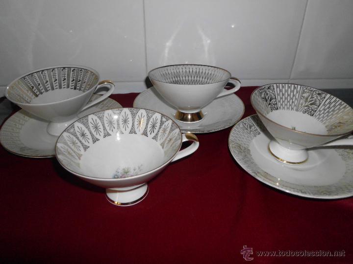 Vintage: Conjunto de tazas de colección Bavaria - Foto 4 - 42160481