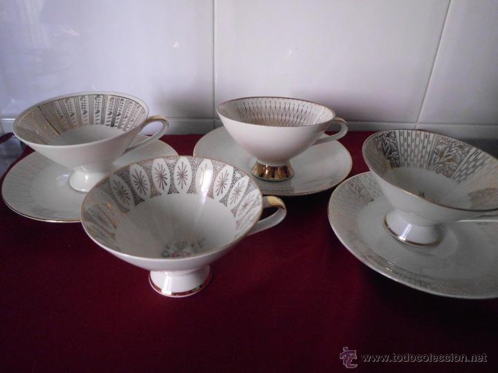 Vintage: Conjunto de tazas de colección Bavaria - Foto 3 - 42160481