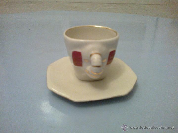 Vintage: JUEGO CAFE 6 SERVICIOS . ELEFANTES - Foto 2 - 175680912