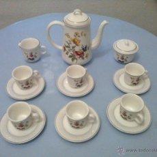 Vintage: JUEGO CAFE 6 SERVICIOS .. Lote 42525394