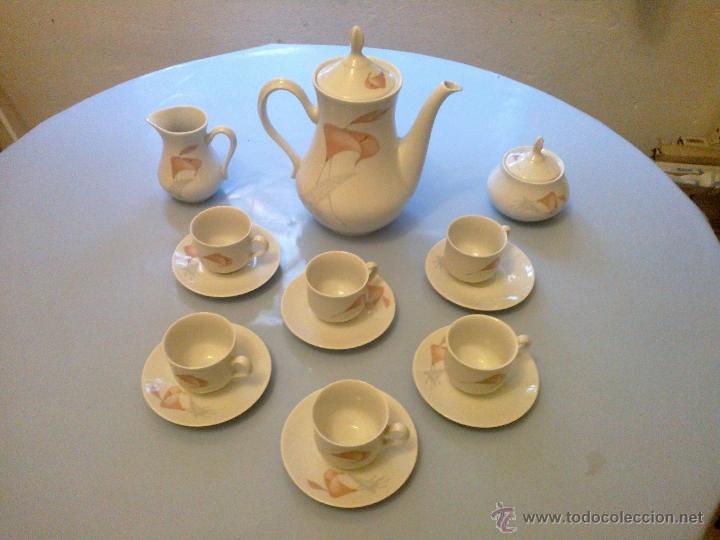 JUEGO CAFE 6 SERVICIOS . THUN (Vintage - Decoración - Porcelanas y Cerámicas)