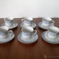 Vintage: JUEGO 6 SERVICIOS . TAZAS. THUN. Lote 42534402