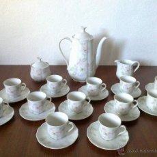 Vintage: JUEGO CAFE 12 SERVICIOS . BAVARIA . SELTMAN WEIDEN. Lote 142404645