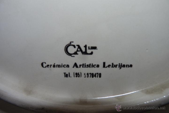 Vintage: PRECIOSO PLATO DE CERÁMICA, GIRALDA DE SEVILLA, RECUERDO EXPO 92 - Foto 9 - 42573960