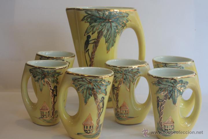 JUEGO DE PORCELANA VINTAGE (Vintage - Decoración - Porcelanas y Cerámicas)