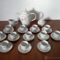 Vintage: JUEGO CAFE 12 SERVICIOS . JL MENAU . Lote 42607066