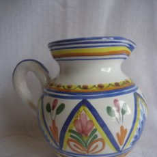 Vintage: ANTIGUA JARRA DE CERAMICA MURCIANA O TALAVERA. Lote 42832743