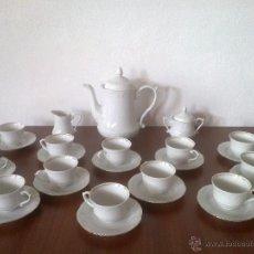 Vintage: JUEGO CAFE 12 SERVICIOS Y JUEGO CONSOME 6 SERVICIOS. SELLO POLONIA. Lote 42934949