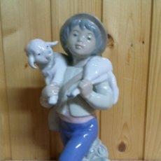 Vintage: FANTASTICA PORCELANA DE NIÑO PASTOR -REX VALENCIA HUMMELWERK. Lote 43118918