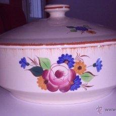 Vintage: DELICIOSA SOPERA PORCELANA. Lote 43182611