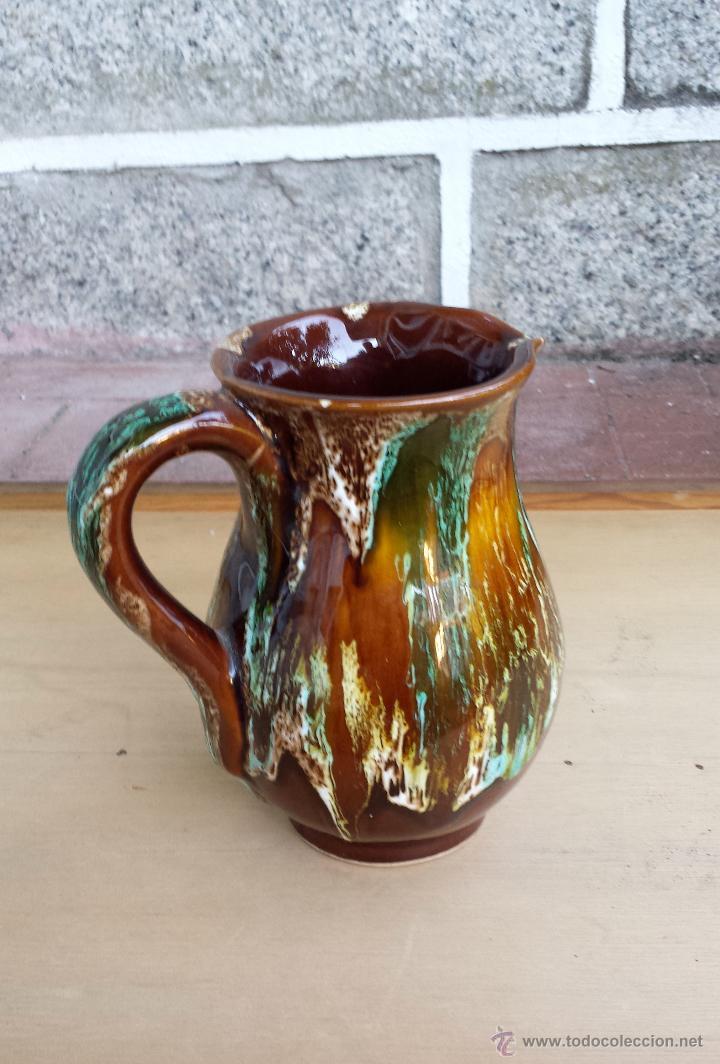 JARRA CERÁMICA DE VALLAURIS (Vintage - Decoración - Porcelanas y Cerámicas)