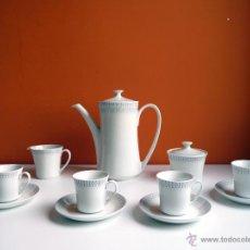 Vintage: JUEGO DE CAFÉ PONTESA AÑOS 70 (ESPAÑA) RETRO. Lote 43282610