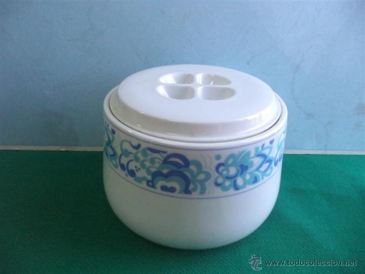 BOMBONERA DE PORCELANA (Vintage - Decoración - Porcelanas y Cerámicas)