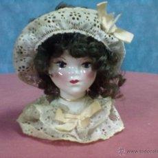 Vintage: CABEZA BUSTO PORCELANA. Lote 43513420