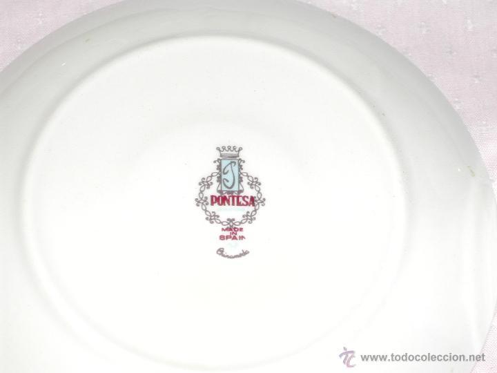 Vintage: VINTAGE -- Delicado juego de Café / Te --- PONTESA CHINAMODA - Hecho en España. - Foto 6 - 43623062