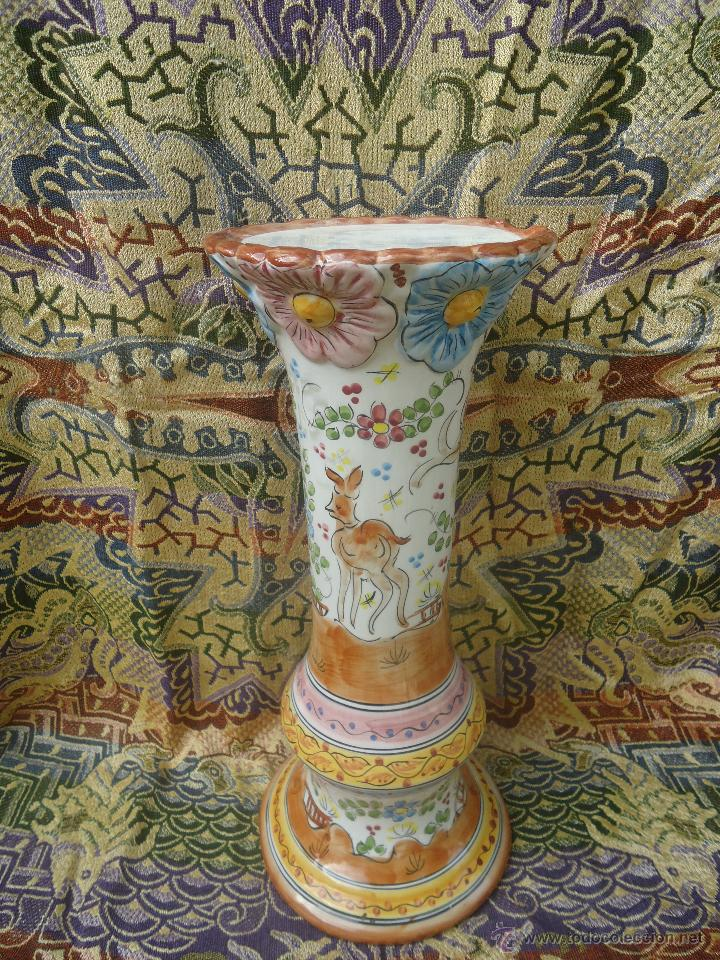 Gran macetero de cer mica o peana de portugal comprar Ceramica portuguesa online