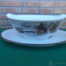 Vintage: SALSERA PORCELANA ORIENTAL. Lote 44016750