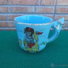 Vintage: TAZA CERAMICA NIÑO. Lote 44017305
