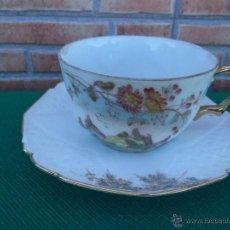 Vintage: TAZA Y PLATO. Lote 44100579