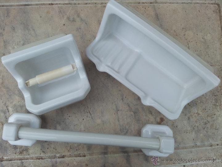 Accesorios de ba o roca de porcelana originales comprar for Accesorios de bano de ceramica