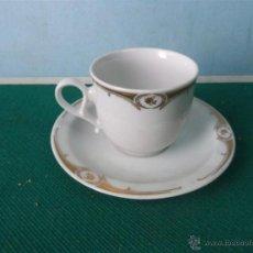 Vintage: TAZA Y PLATO. Lote 44176191