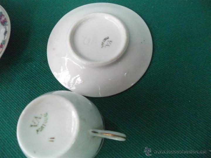 Vintage: 3 tazas y platos vistaalegre - Foto 2 - 44176311