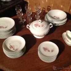 Vintage: VAJILLA DE LIMOGES EN PORCELAINE / FRANCESA MODÉLE EXCLUSIF. Lote 44282635