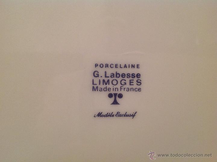 Vintage: VAJILLA DE LIMOGES EN PORCELAINE / FRANCESA MODÉLE EXCLUSIF - Foto 5 - 44282635