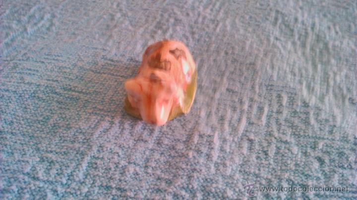 Vintage: Figura de porcelana del roscón de reyes. Buey - Foto 2 - 44529788