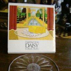 Vintage: BONITO PLATO EN CRISTAL INGLES DARTINGTON DAISY. Lote 45089021