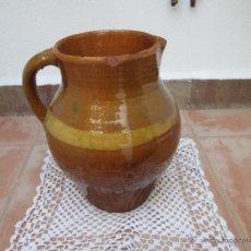 Vintage - Antiguo jarro de barro vidriado - 45218135