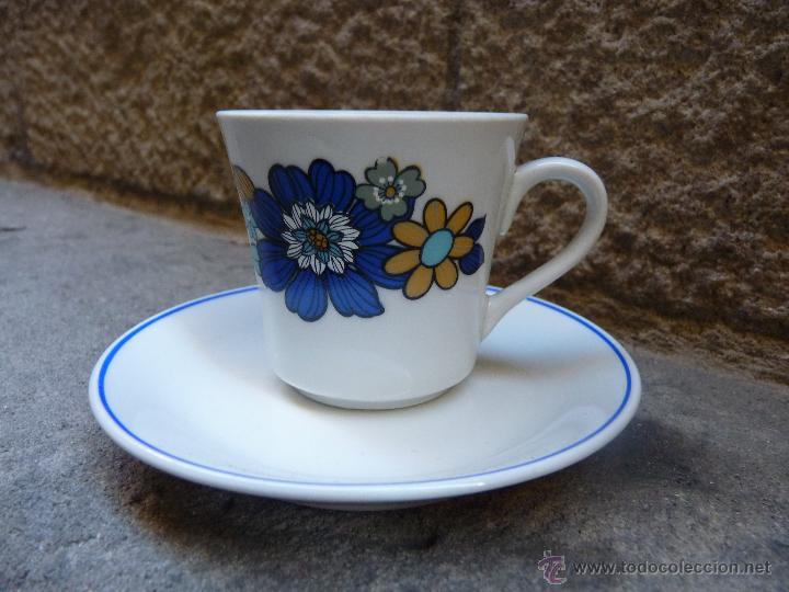 Vintage: Precioso juego de cafe de porcelana, años 60 - Foto 3 - 45829529