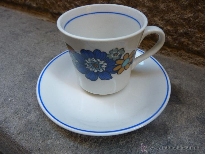 Vintage: Precioso juego de cafe de porcelana, años 60 - Foto 4 - 45829529