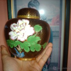 Vintage: ANTIGUO TIBOR CLOISONNE-CALIDAD-VINTAGE. Lote 45863504