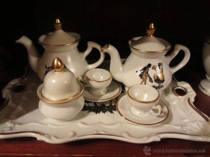 Vintage: Juego de Miniaturas de porcelana Capeans. - Foto 2 - 46032470
