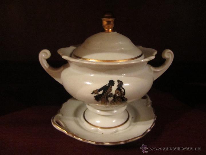 Vintage: Juego de Miniaturas de porcelana Capeans. - Foto 4 - 46032470