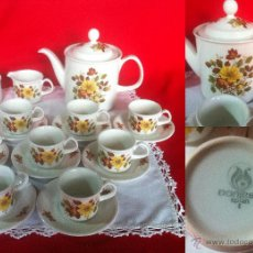 Vintage: PORCELANA PONTESA JUEGO DE CAFE 21 PZAS . Lote 46157119