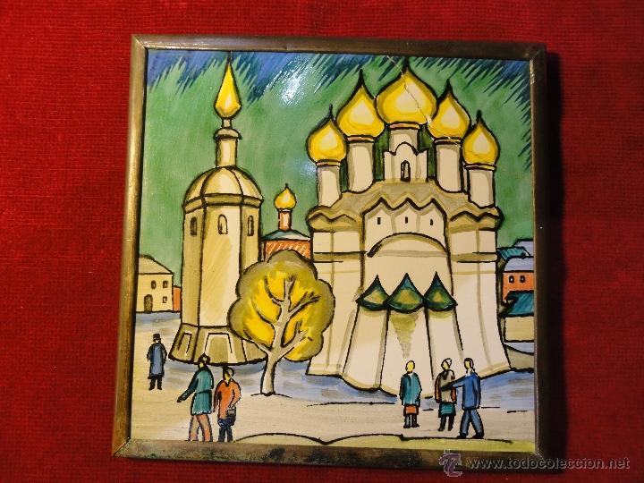 CERAMICA RUSA (Vintage - Decoración - Porcelanas y Cerámicas)