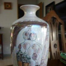 Vintage: JARRON DE CERAMICA CATALANA FIRMADO ARTFANG . Lote 46214337