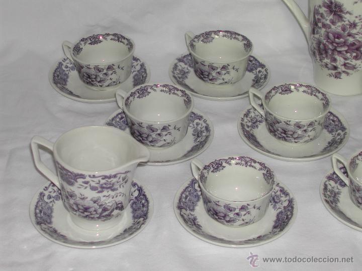 Vintage: PONTESA -- Juego de Café de 26 piezas. - Foto 4 - 46390937