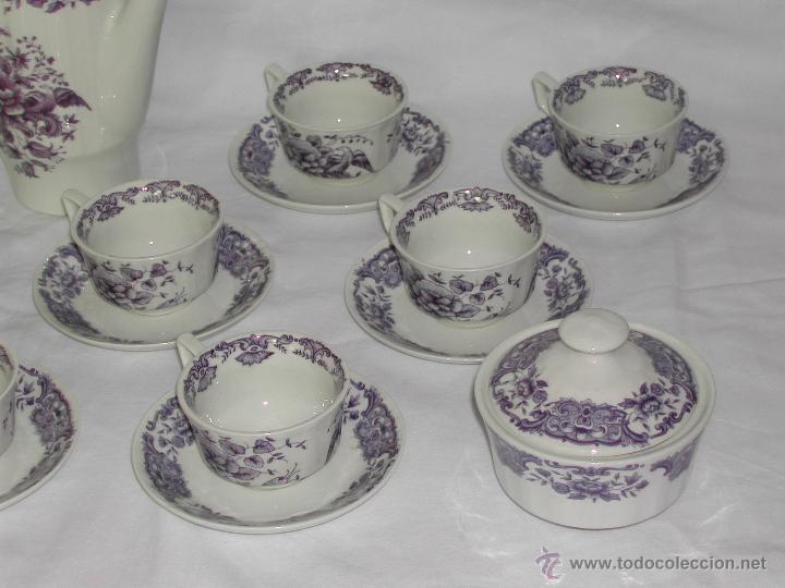 Vintage: PONTESA -- Juego de Café de 26 piezas. - Foto 5 - 46390937
